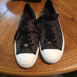 Brand new never worn Coach shoes